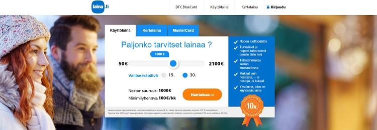 Hae lainaa Laina.fi palvelusta!