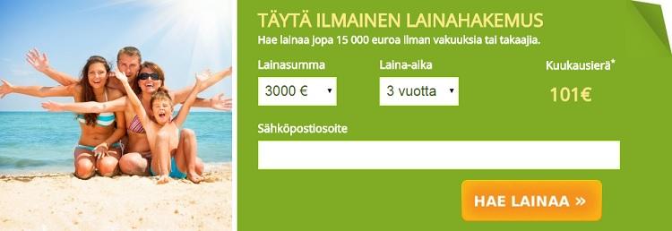 Omalaina.fi - Pyydä maksuton lainatarjous!