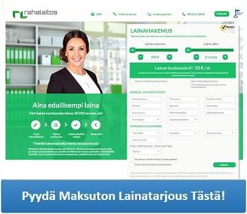 Rahalaitos.fi - Lainaa 500 - 40.000 euroa.