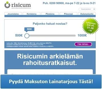 Risicum - Nopeaa lainaa netistä!