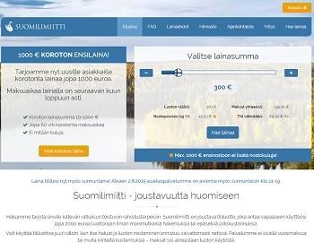 Suomilimiitti.fi - Lainaa heti ilman kuluja!