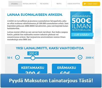 Limiitti.fi - Lainaa heti!