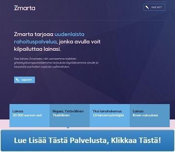 Zmarta.fi - Lainaa nopeasti ja helposti!