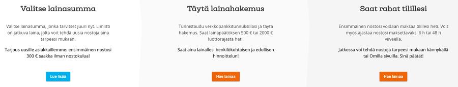 Limiitti.fi lainaa joustavilla lainaehdoilla.