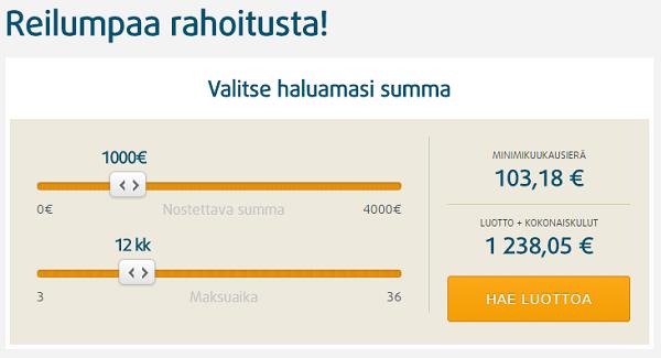 Credit24.fi Hae oma henkilökohtainen lainatarjouksesi!