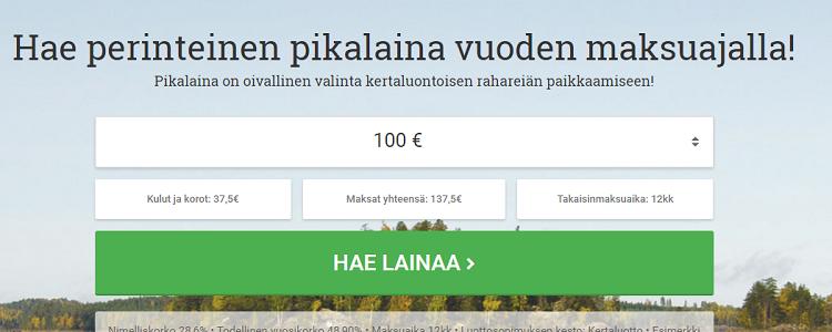 Lainasto.fi Pikalaina. Lue lisää!