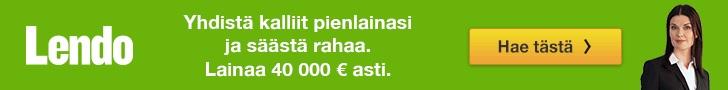 Lendo lainaa 500 - 50.000 euroa.