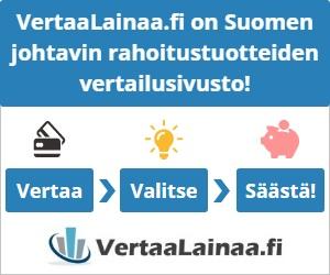 VertaaLainaa.fi on Suomen johtavin rahoitustuotteiden vertailusivusto!
