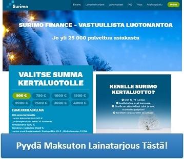 Lue lisää Surimo.fi palvelusta!