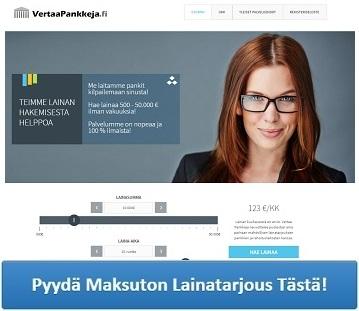 Lue lisää VertaaPankkeja.fi palvelusta!