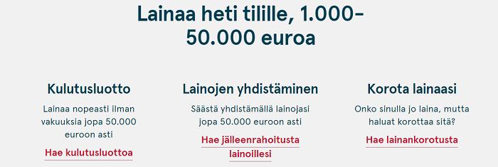 Bank Norwegian on monipuolinen lainapalvelu.