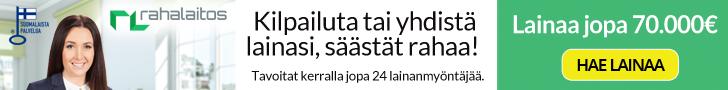 Rahalaitos.fi lainaa pitkällä maksuajalla.