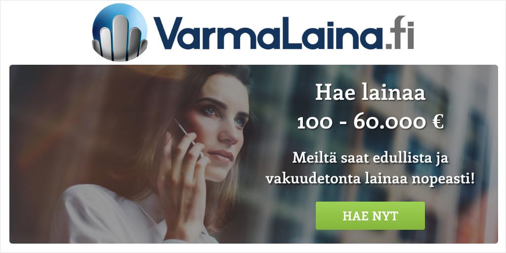 Lainojen yhdistäminen VarmaLaina.fi