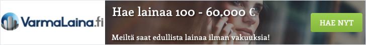 VarmaLaina.fi - Lainaa heti 100 - 60.000 €