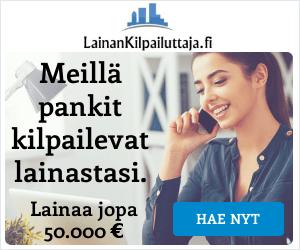 LainanKilpailuttaja kilpailuttaa pankit puolestasi!
