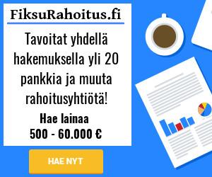 Hae Fiksumpaa lainaa 100 - 60.000 €