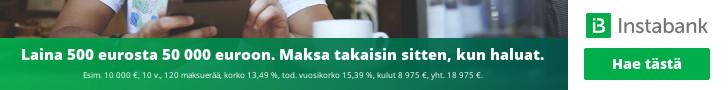 Hae lainaa Instabank.fi pankista!