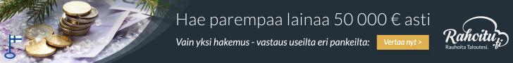 Hae edullista lainaa Rahoitu.fi palvelusta!