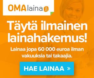 Hae lainaa Omalaina.fi palvelusta