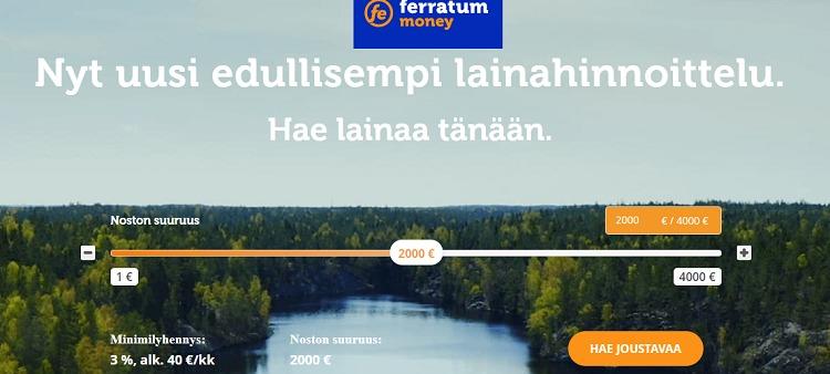 Ferratum - Hae lainaa