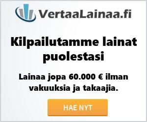 VertaaLainaa.fi – Lainaa jopa 60 000 €