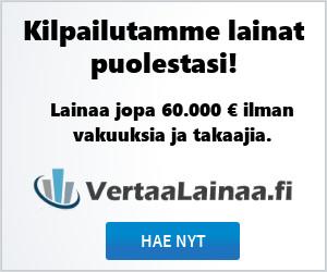 Hae lainaa 100 - 60.000 €